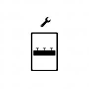 Micro motor exaustor (cooler) + Mão de obra