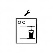 Troca do reservatório + termostato + carga de gás + termostato + mão de obra