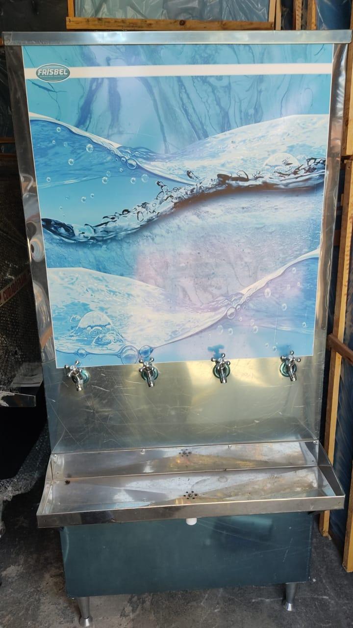 Bebedouro de Água Industrial Coluna 200 Litros Frisbel Bebedouros + Filtro - SEMI NOVO  - My Shop
