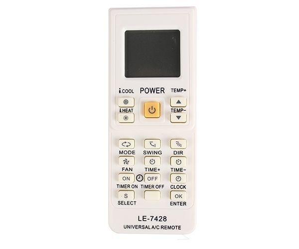 Controle Remoto Universal Ar Condicionado Le-7428  - My Shop
