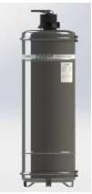 Filtro Central Retrolavável Fusati Pacífico - 2.000 L/h c/ válvula 3 vias  - My Shop