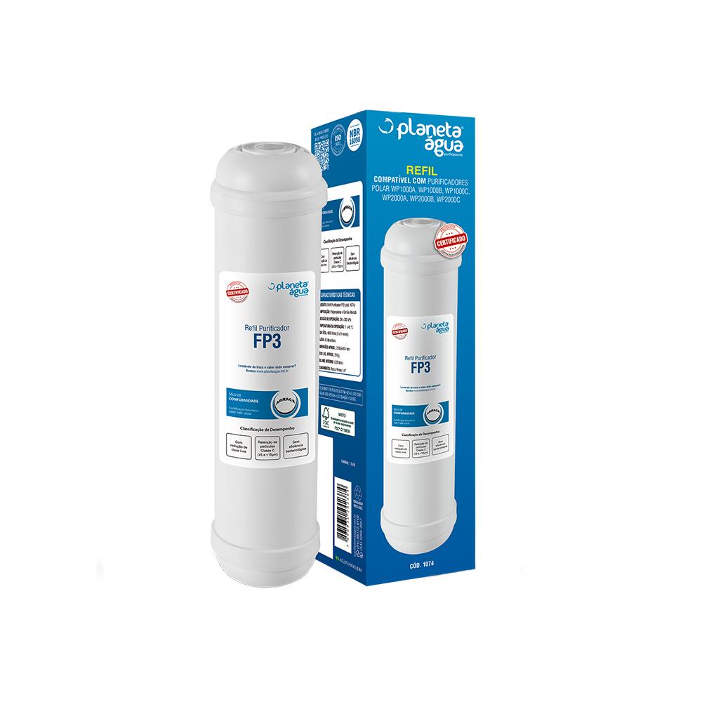Filtro para Purificadores de Água Polar - Refil FP3  - My Shop