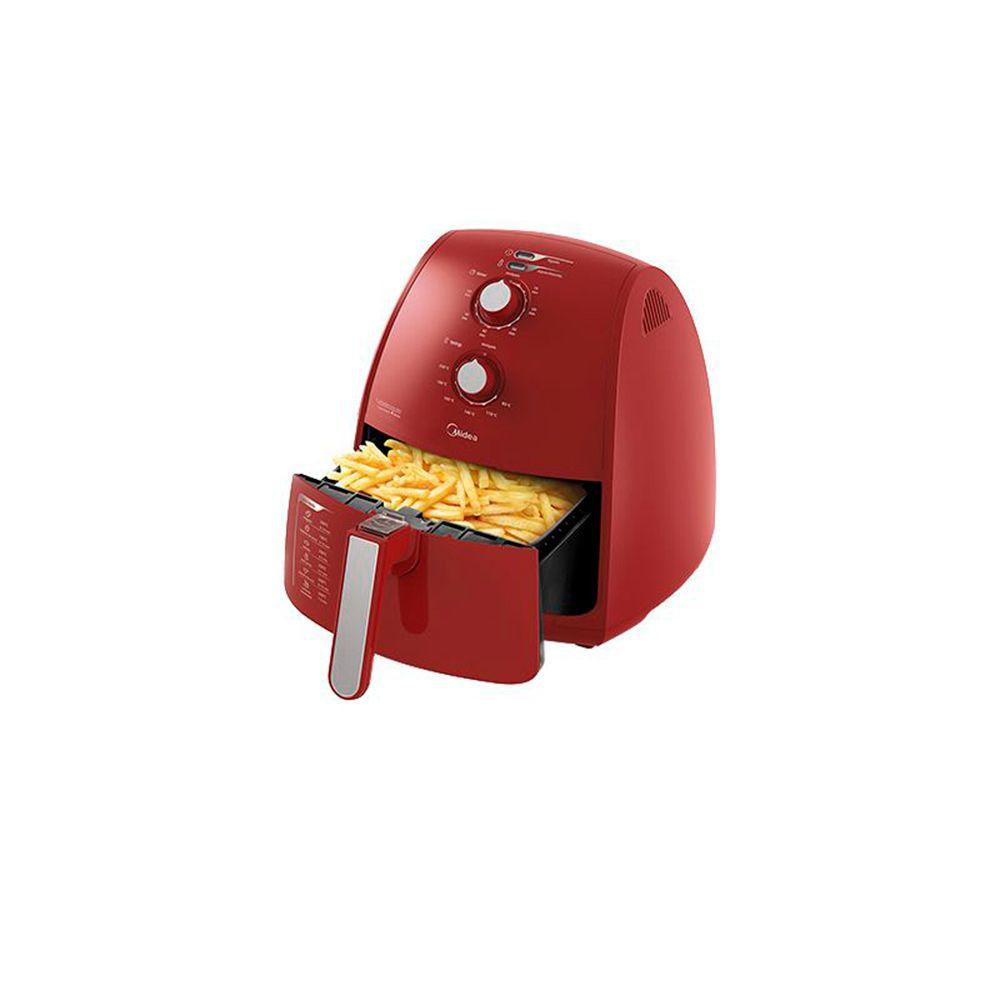 Fritadeira Air Fryer Midea Liva 4L - Vermelha  - My Shop