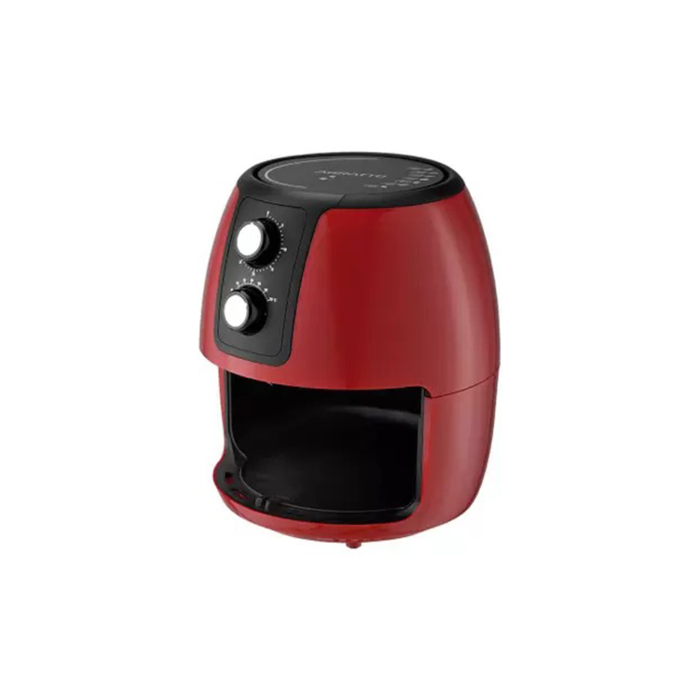 Fritadeira Elétrica Vermelha Air Fryer Supremma 3,6l Agratto  - My Shop