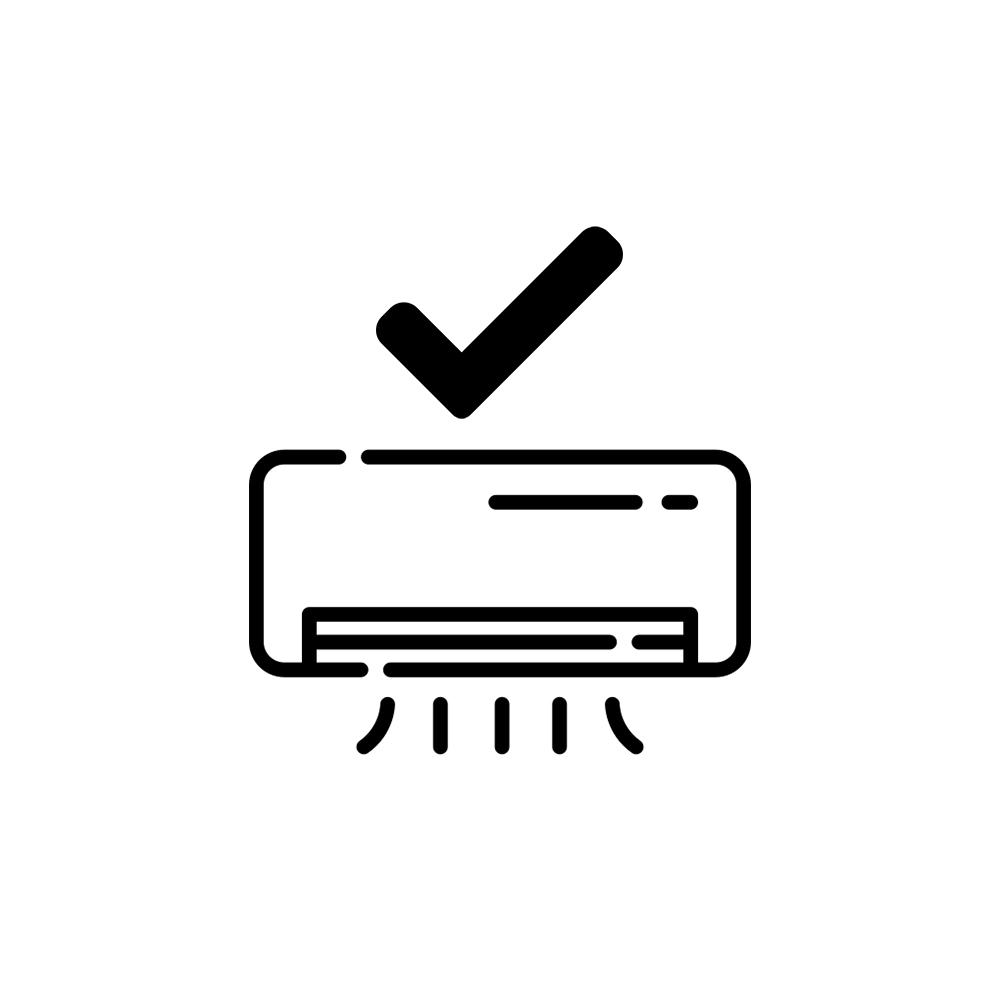 Instalação de ar condicionado (9.000 e 12.000 BTUS)  - My Shop