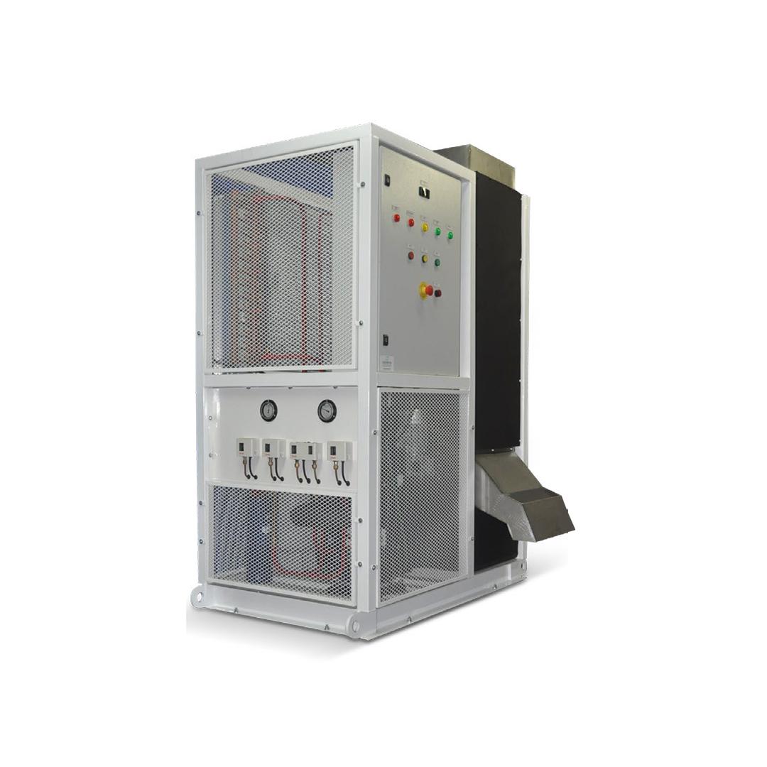 Máquina de Gelo em escama Calabria MGERC 3000T - 3.000 Kg por dia  - My Shop