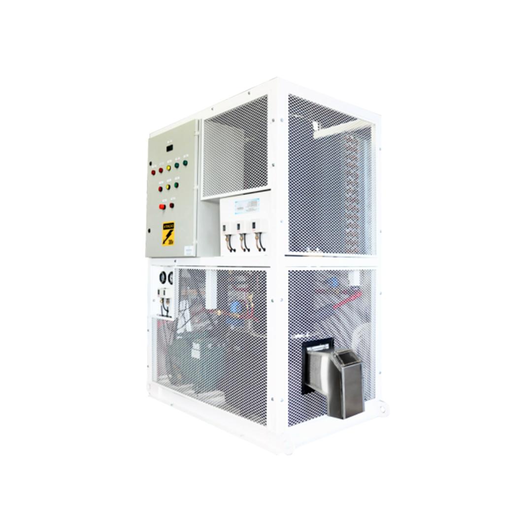 Máquina de Gelo em tubo Calabria MGRC2500T - 2.500 Kg por dia  - My Shop