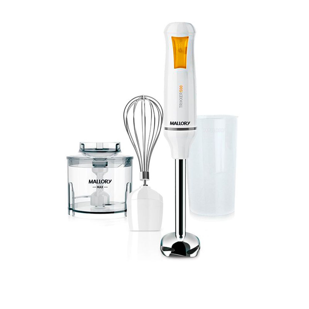 Mixer Mallory Trikxer 500W Branco   - My Shop