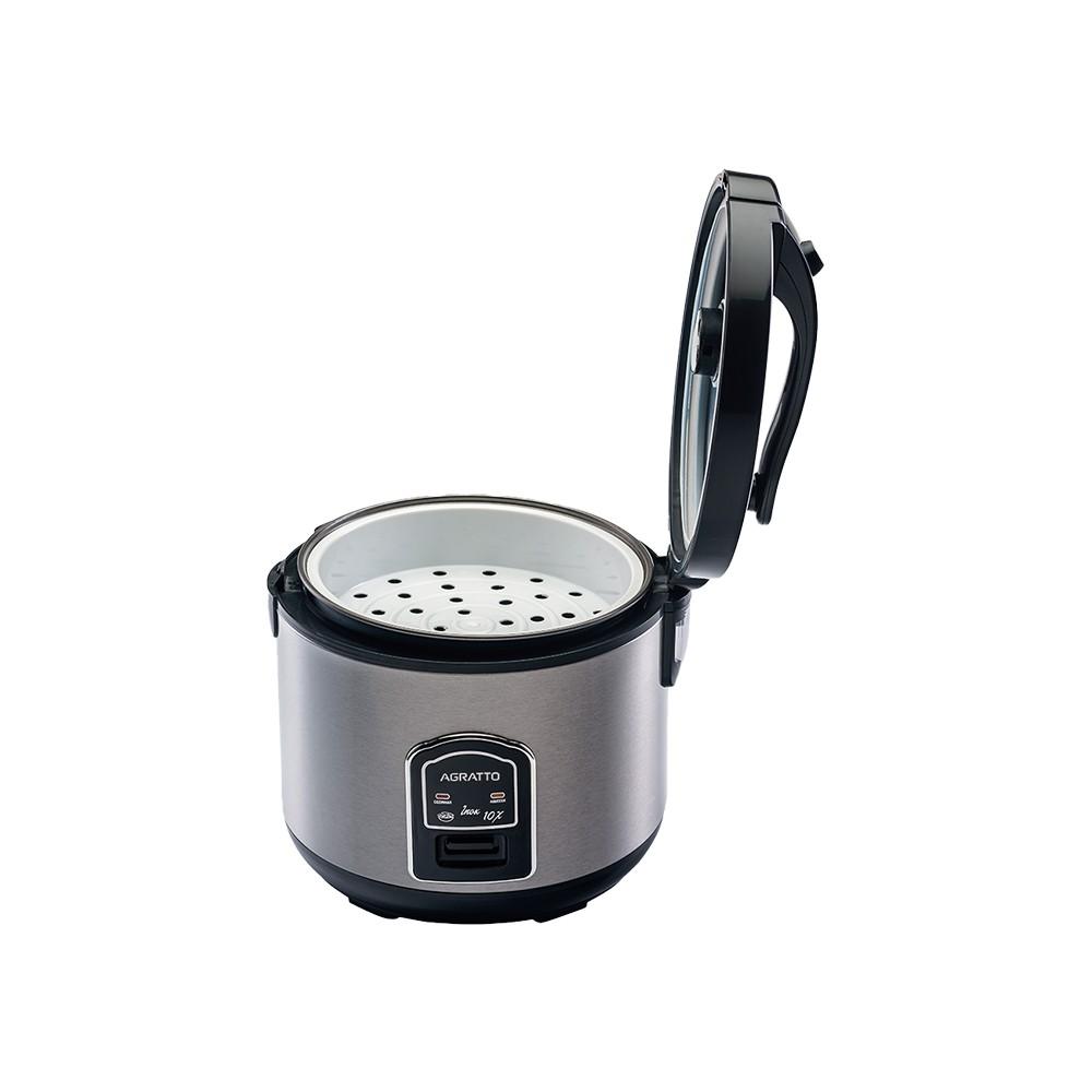 Panela Elétrica Arroz e Legumes Agratto PAI10X  Inox 10 Xícaras  - My Shop