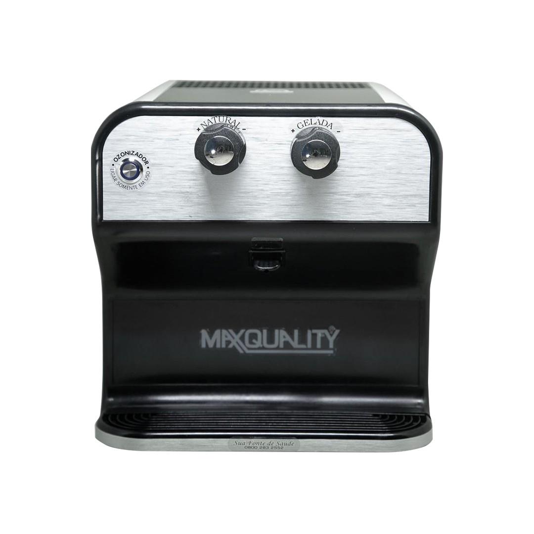 Purificador de Água Gelada Max Quality - Ozônio, Alcalino e Bacteriológico - Preto  - My Shop