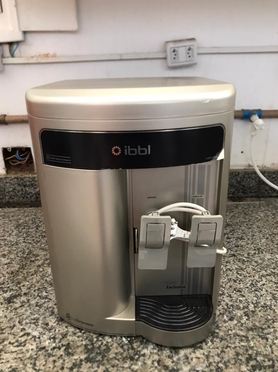 Purificador de Água IBBL FR600 EXCLUSIVE Prata - Semi novo 220v  - My Shop