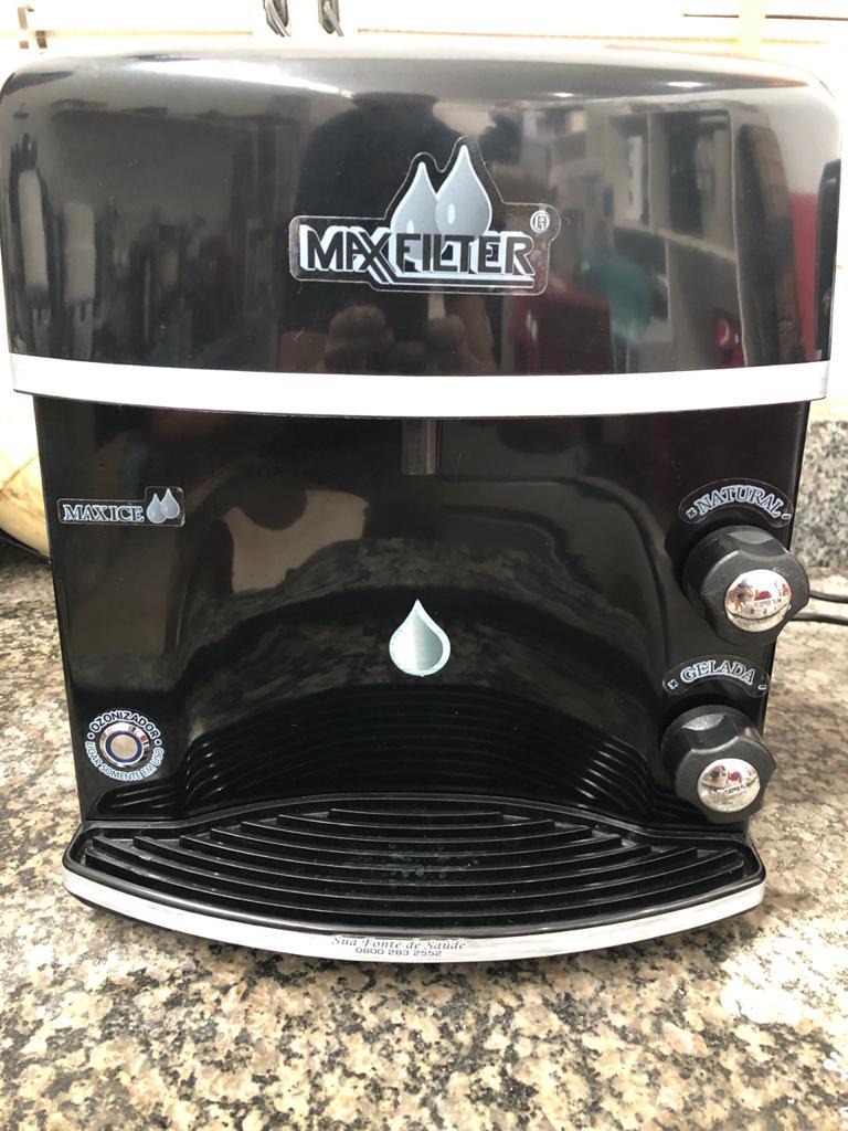 Purificador de Água Maxfilter Alcalino - semi novo 220  - My Shop