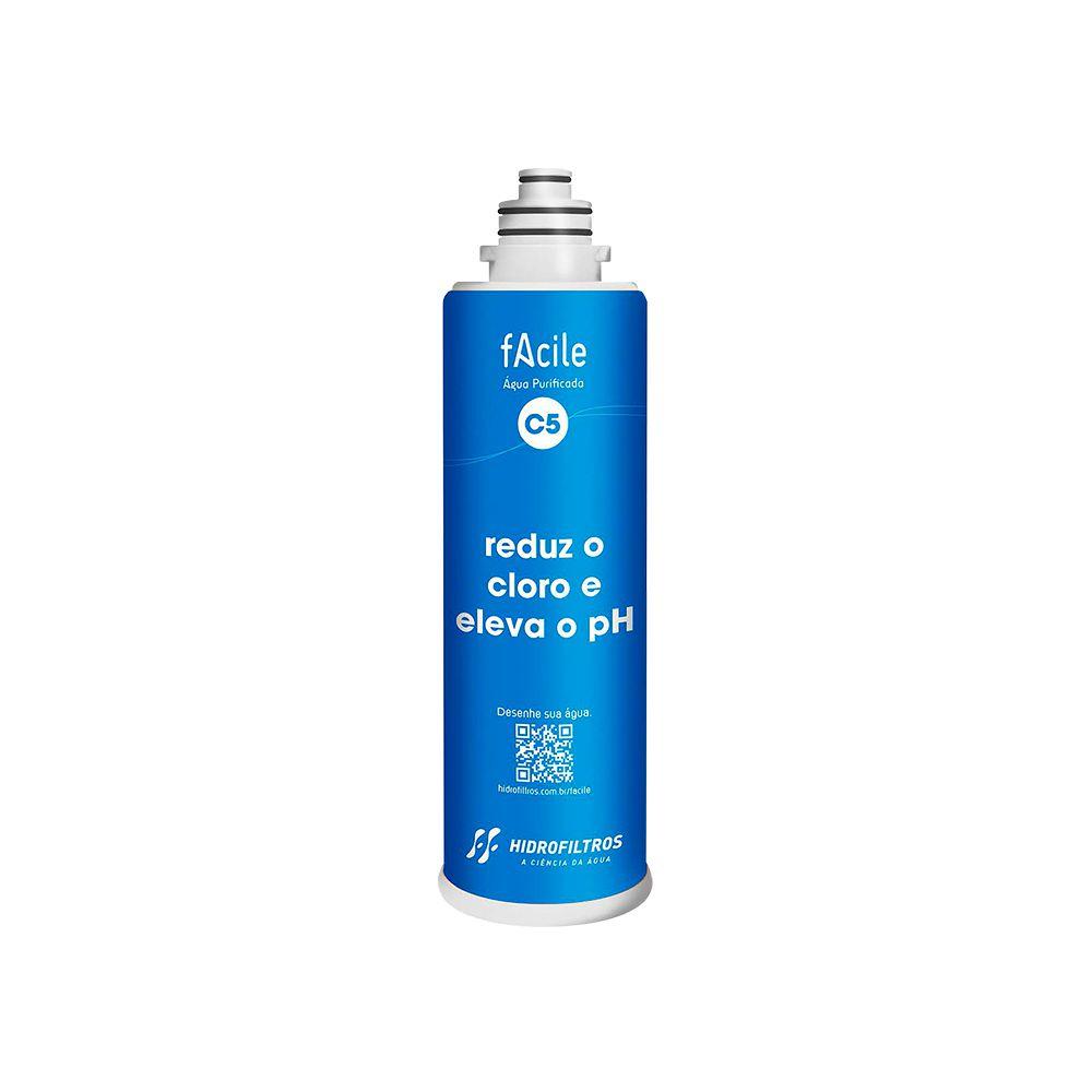 Refil purificador de água Hidrofiltros - Facile C5  - My Shop