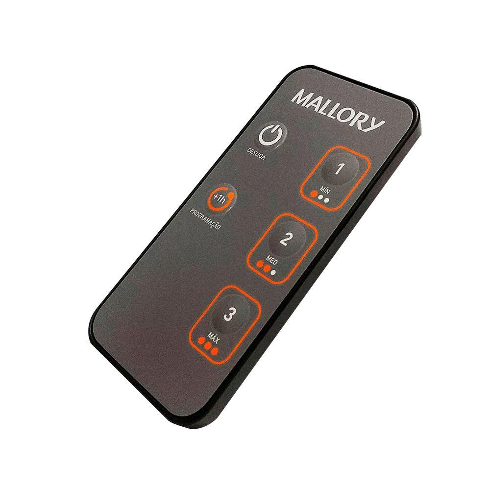 Ventilador de coluna Mallory Air Timer TS+ Preto/Dourado - Com controle remoto  - My Shop