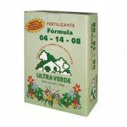 Fertilizante N. P. K 04-14-08 - 1kg - ULTRA VERDE