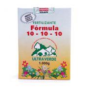 Fertilizante N. P. K 10-10-10 - 1kg - ULTRA VERDE