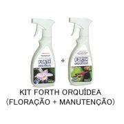 FORTH ORQUIDEA KIT FLORAÇÃO + MANUTENÇÃO PRONTO USO