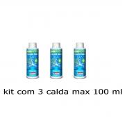 KIT 3 CALDA BORDALESA CALDA MAX 100 ML