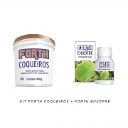 Kit Forth Enxofre 60ml + Forth Coqueiros 400g