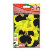 Semente de Amor-Perfeito Gigante Suíço Amarelo 100mg - ISLA