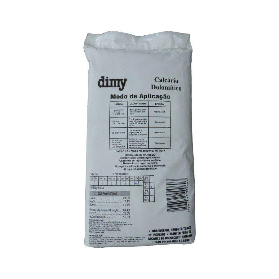 Calcário Dolomítico 3kg Dimy