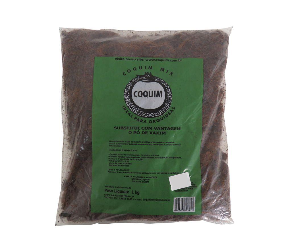 Coquim Mix Fibra e Pó de Coco 1kg - COQUIM