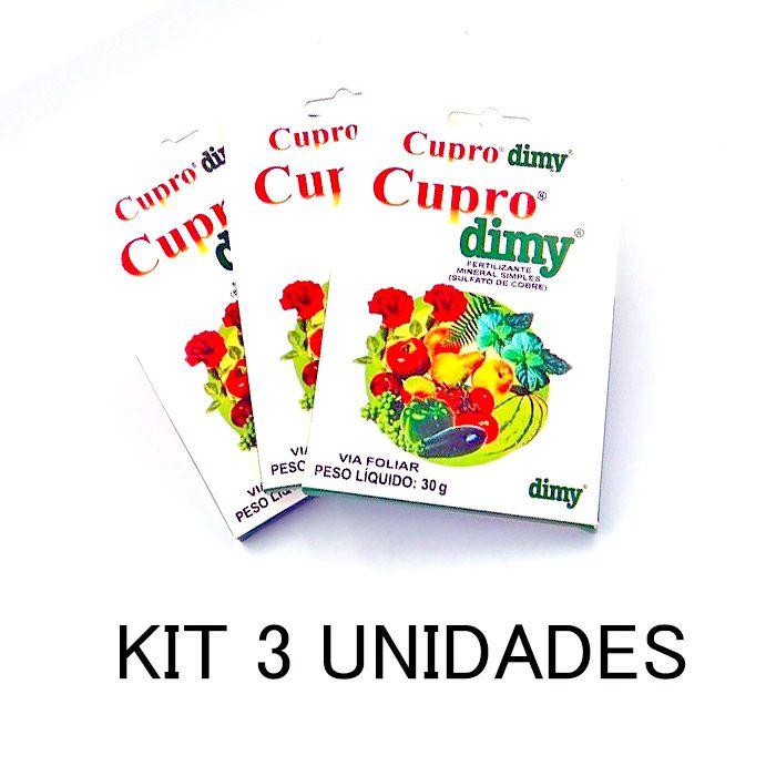 KIT 3 CUPRO DIMY 30GR