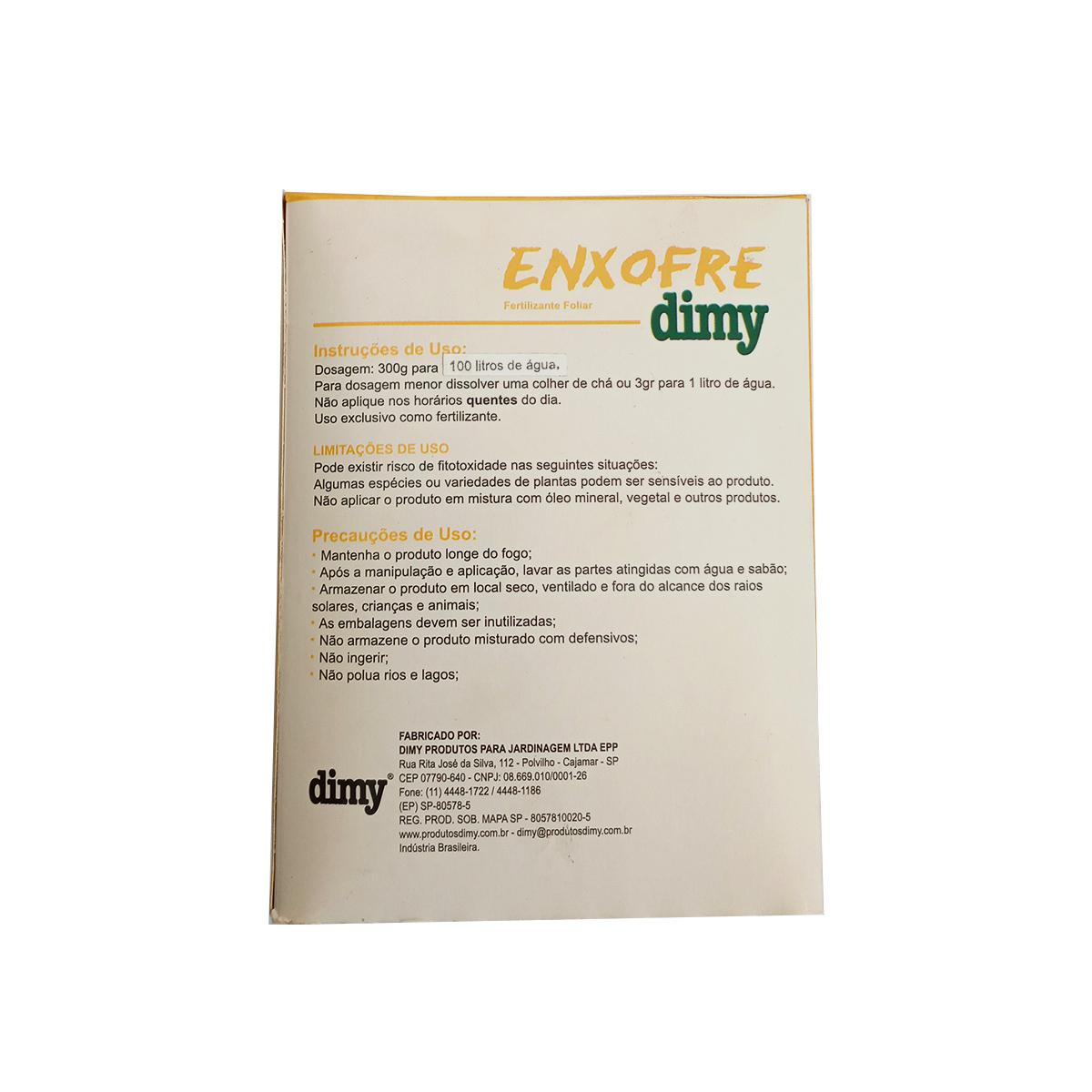 ENXOFRE 300 GR DIMY
