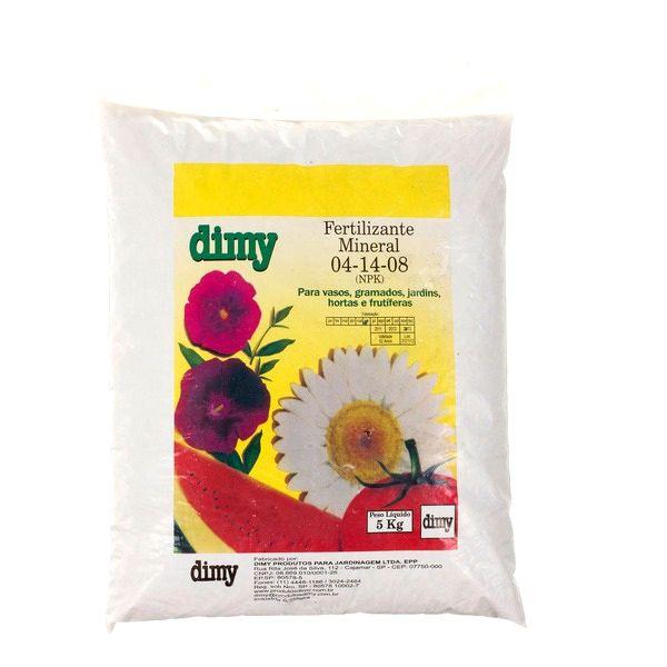 Fertilizante 04-14-08 5kg Dimy