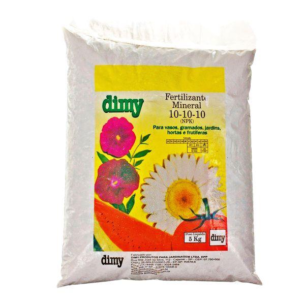 Fertilizante 10-10-10 5kg Dimy