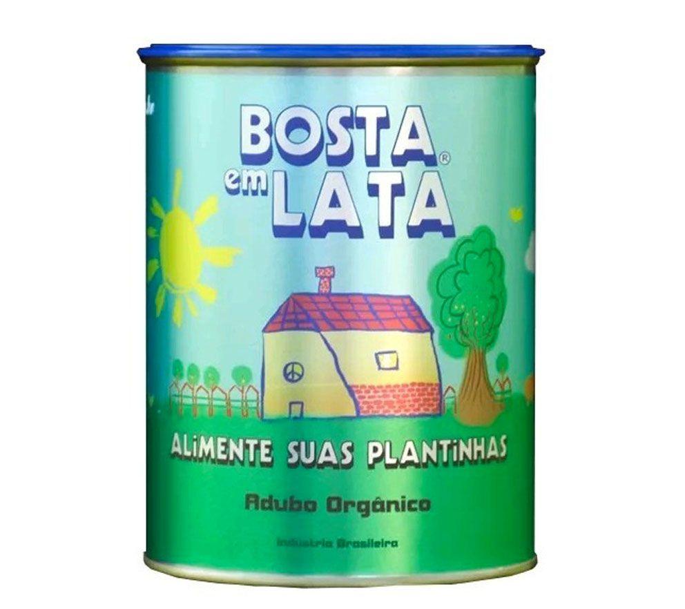 FERT. ORG BOSTA EM LATA 500 G PLANTAS E HORTALICAS