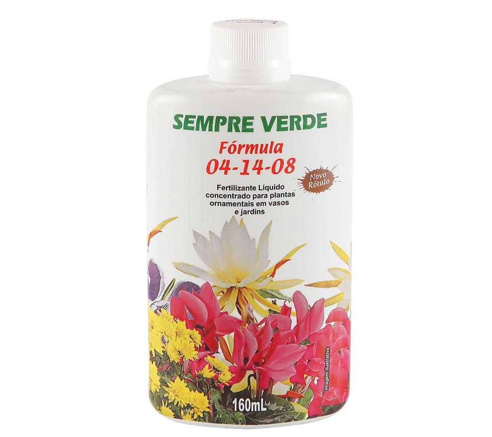 Fertilizante N. P. K 04-14-08 - 160ml - ULTRA VERDE