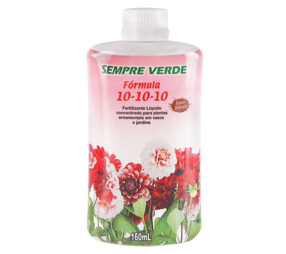 Fertilizante N. P. K 10-10-10 - 160ml - ULTRA VERDE
