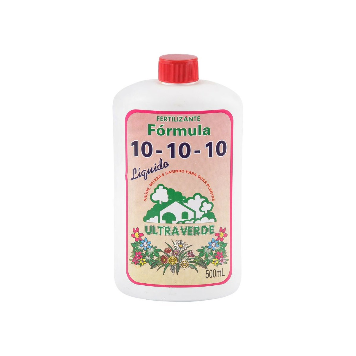 Fertilizante N. P. K 10-10-10 - 500ml - ULTRA VERDE
