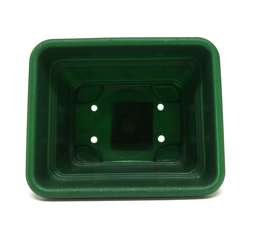 Floreira Vicenza Verde Escuro 11cm - DL