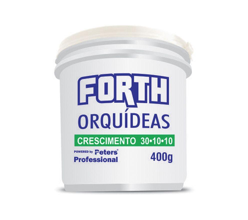 Forth Orquidea Crescimento 30-10-10 400gr - Peter Professional