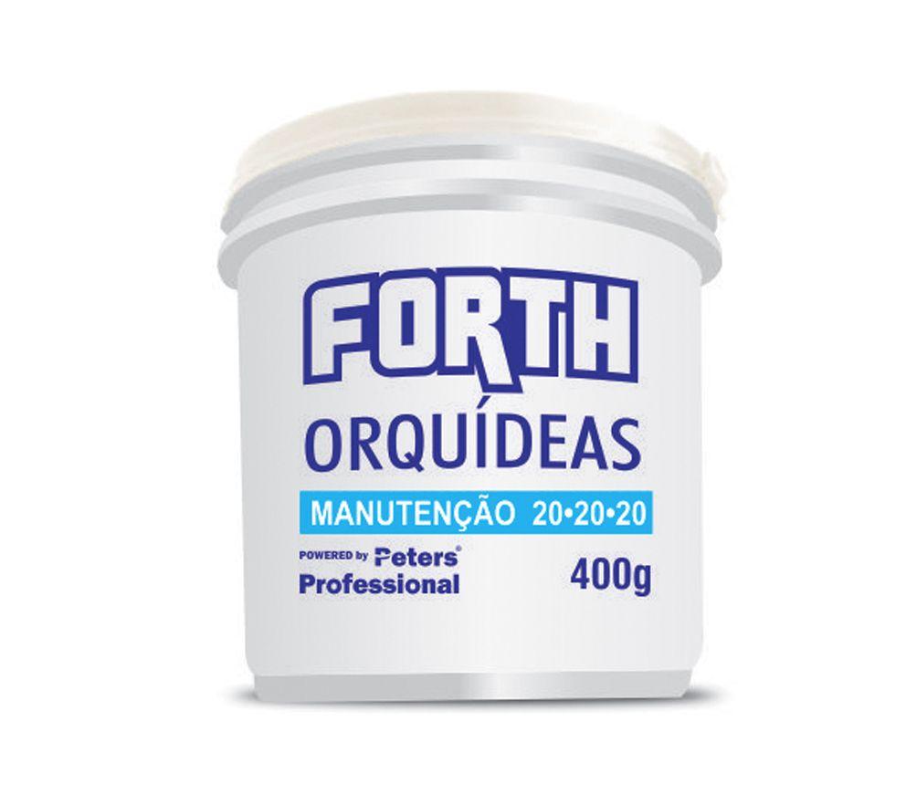 Forth Orquídeas Manutenção 20-20-20 400gr - Peter Professional