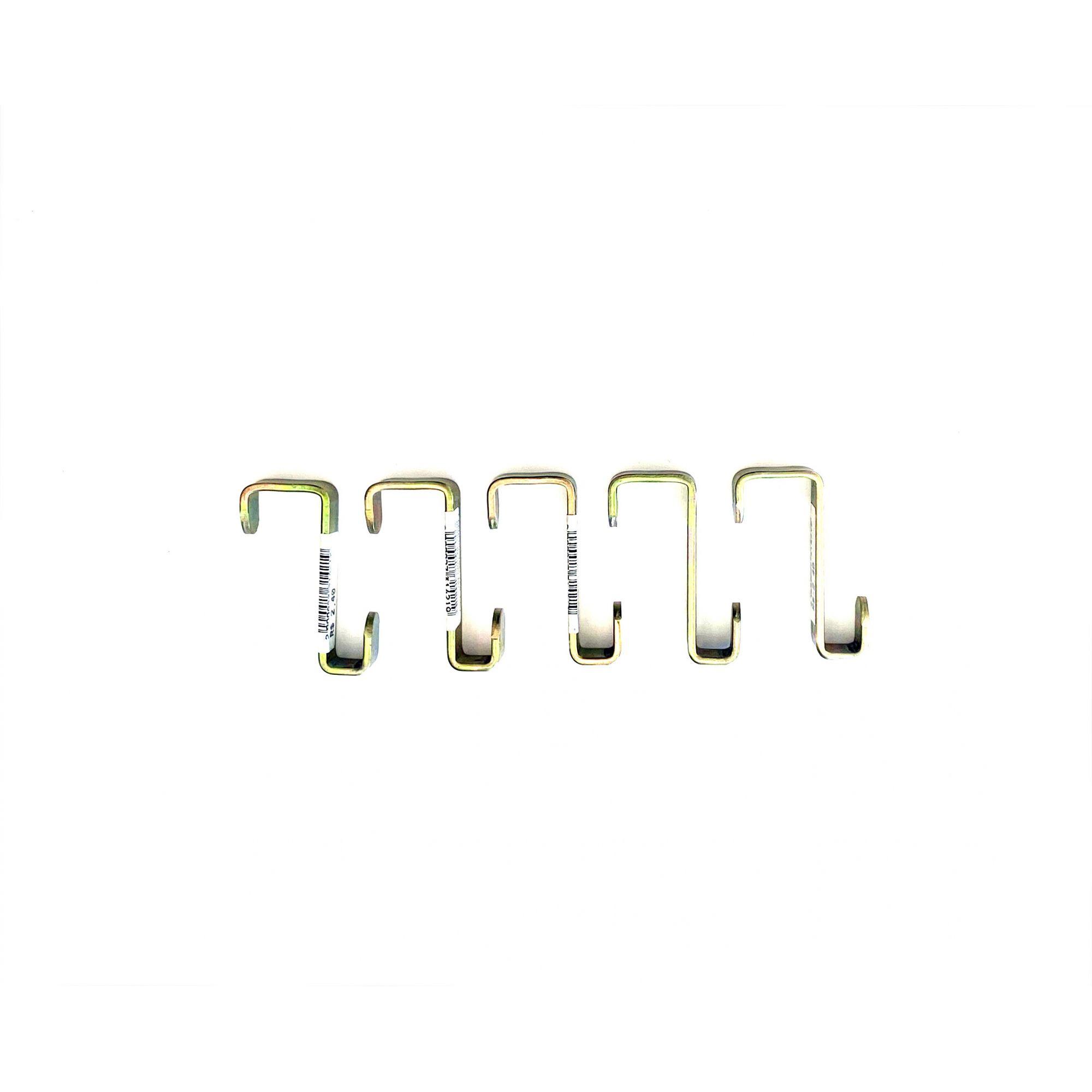 Gancho Treliça Dourado  c/ 5 unidades