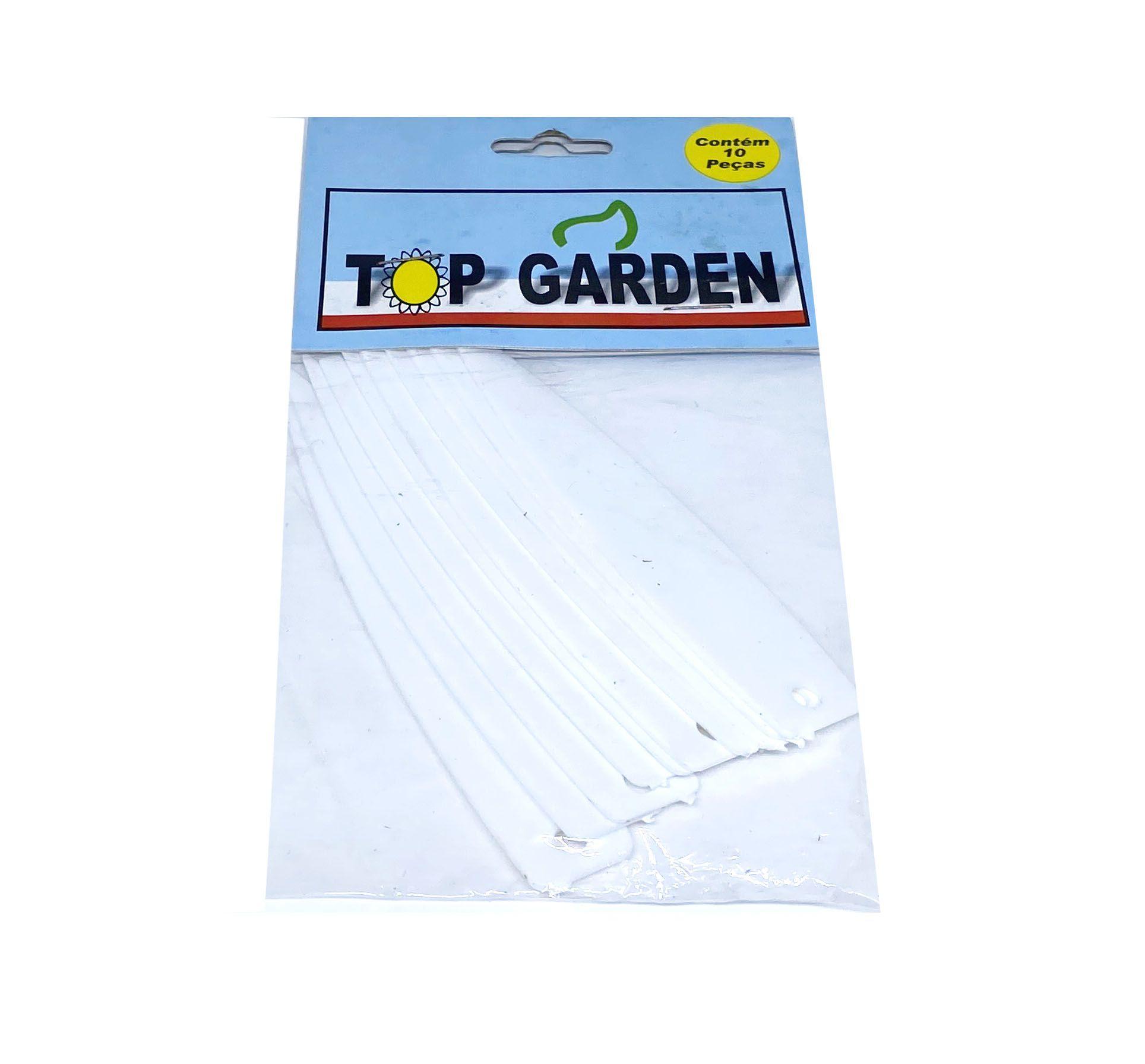 Identificador para Planta 11cm c/ 10 peças Top Garden