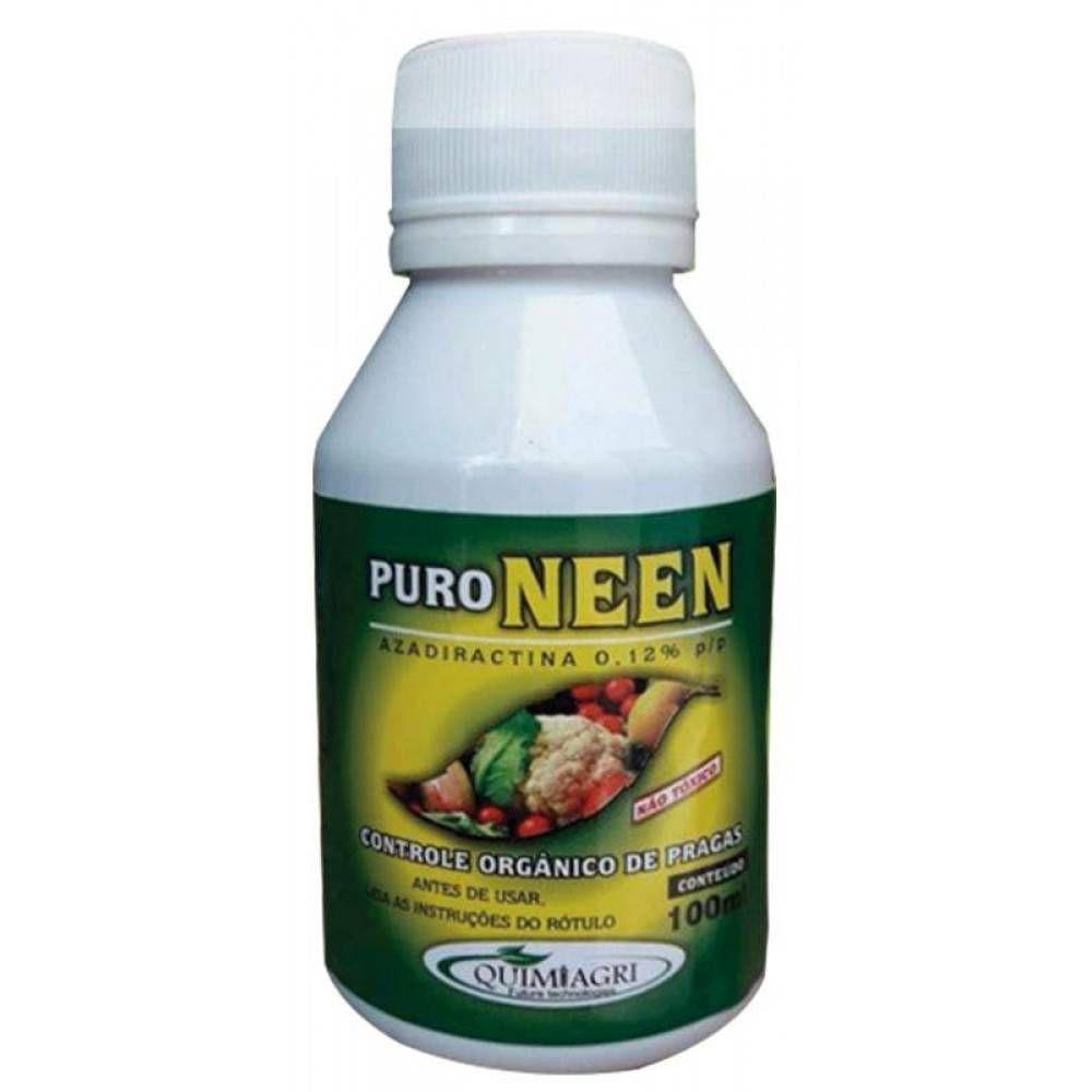 Inseticida Puro Neem 100ml - Quimiagri