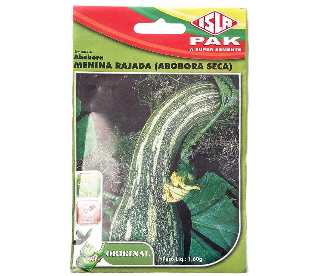 Semente Abóbora Menina Rajada (Seca) 1,60g - ISLA