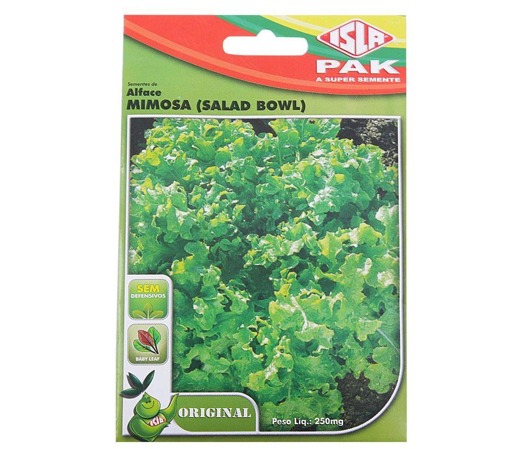 Semente de Alface Mimosa (Salad Bowl) 250mg - ISLA