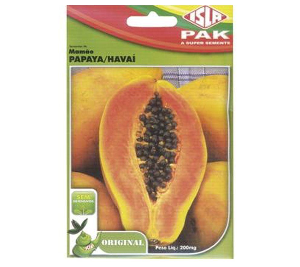 Semente Mamão Papaya/Havaí 200mg - ISLA