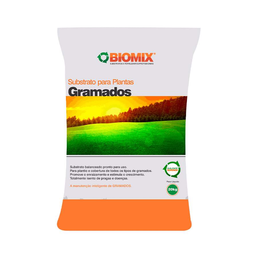 SUBSTRATO GRAMADOS 20KG BIOMIX