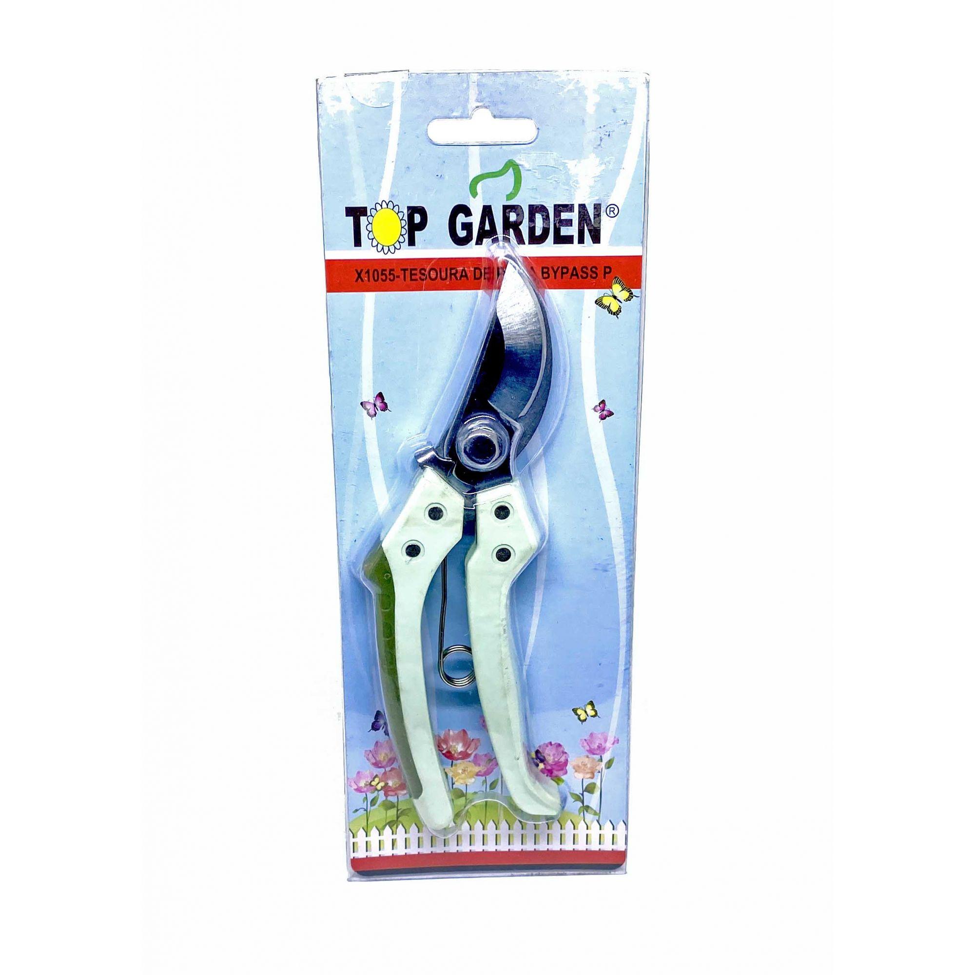 Tesoura de Poda Bypass X1055 Top Garden