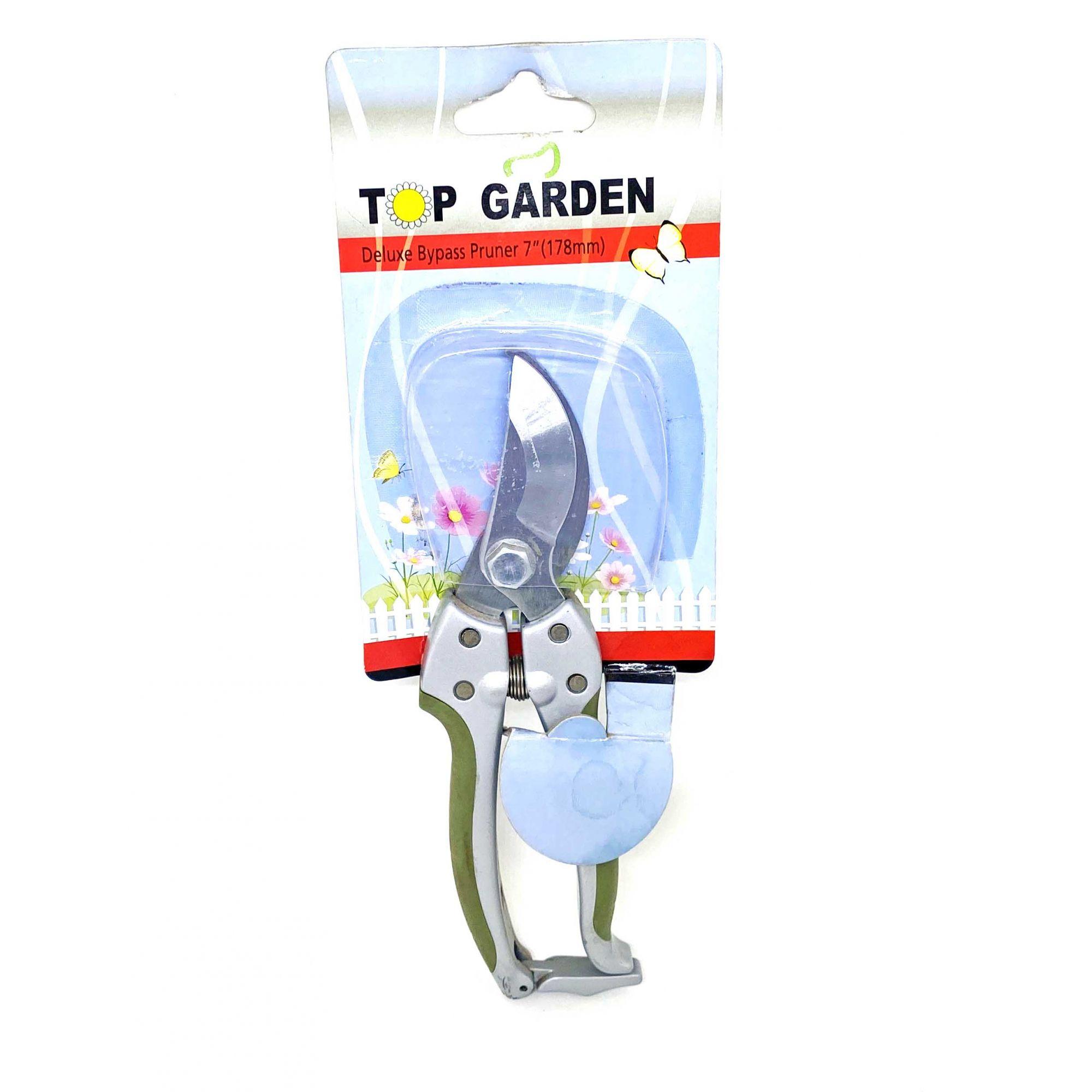 """Tesoura para poda Deluxe Bypass Pruner 7"""" X1066 Top Garden"""