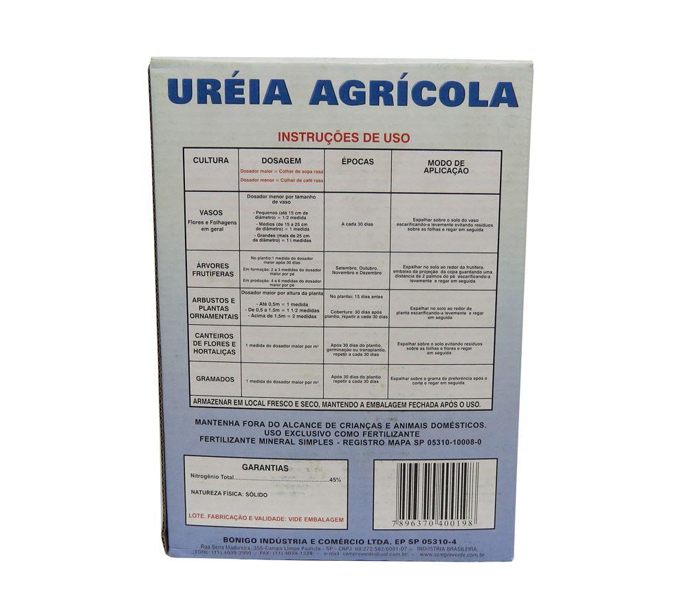 Uréia Agrícola Fertilizante 1kg - ULTRA VERDE