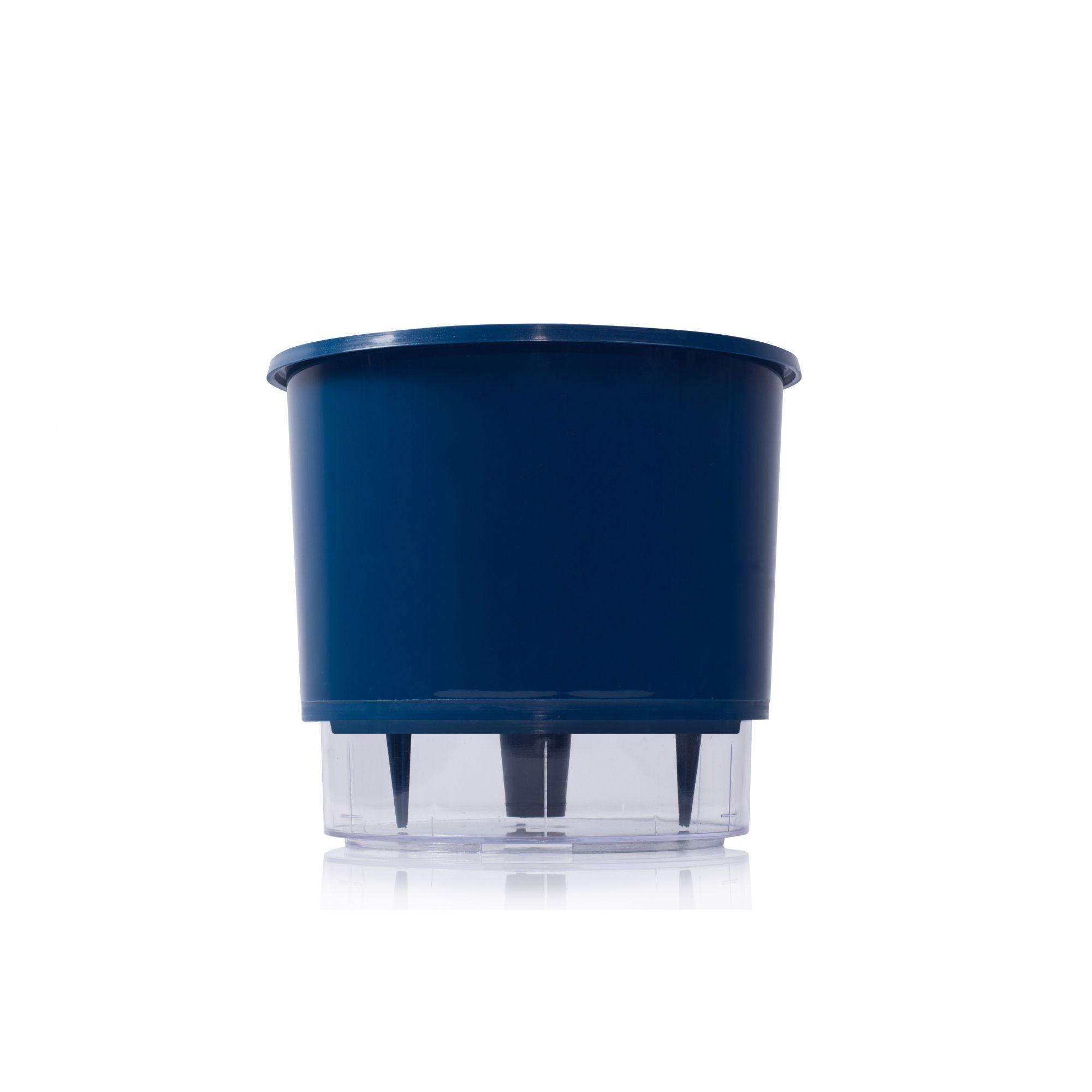 Vaso Autoirrigável 2 Azul Escuro Raiz
