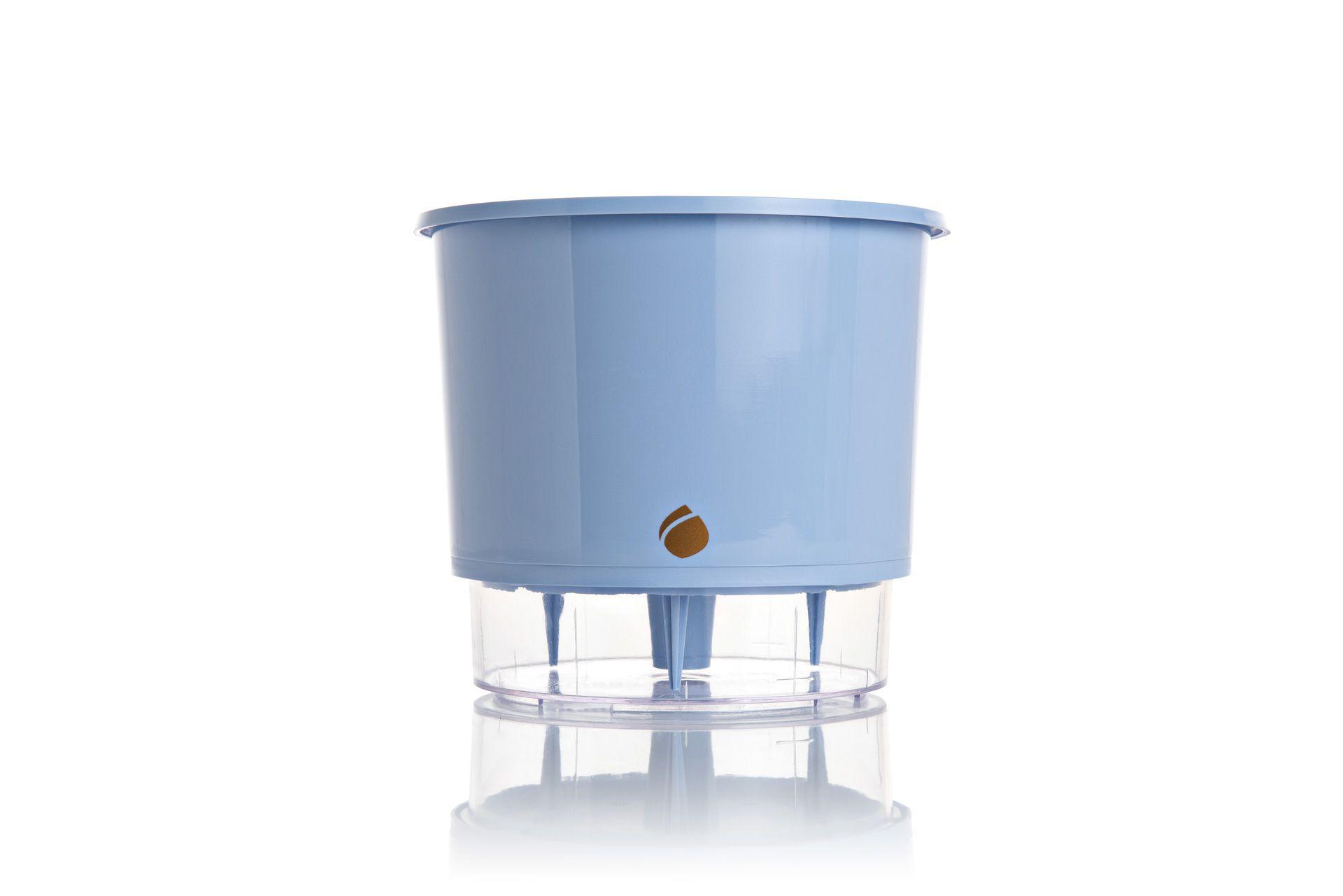Vaso Autoirrigável 2 Azul Serenity Raiz