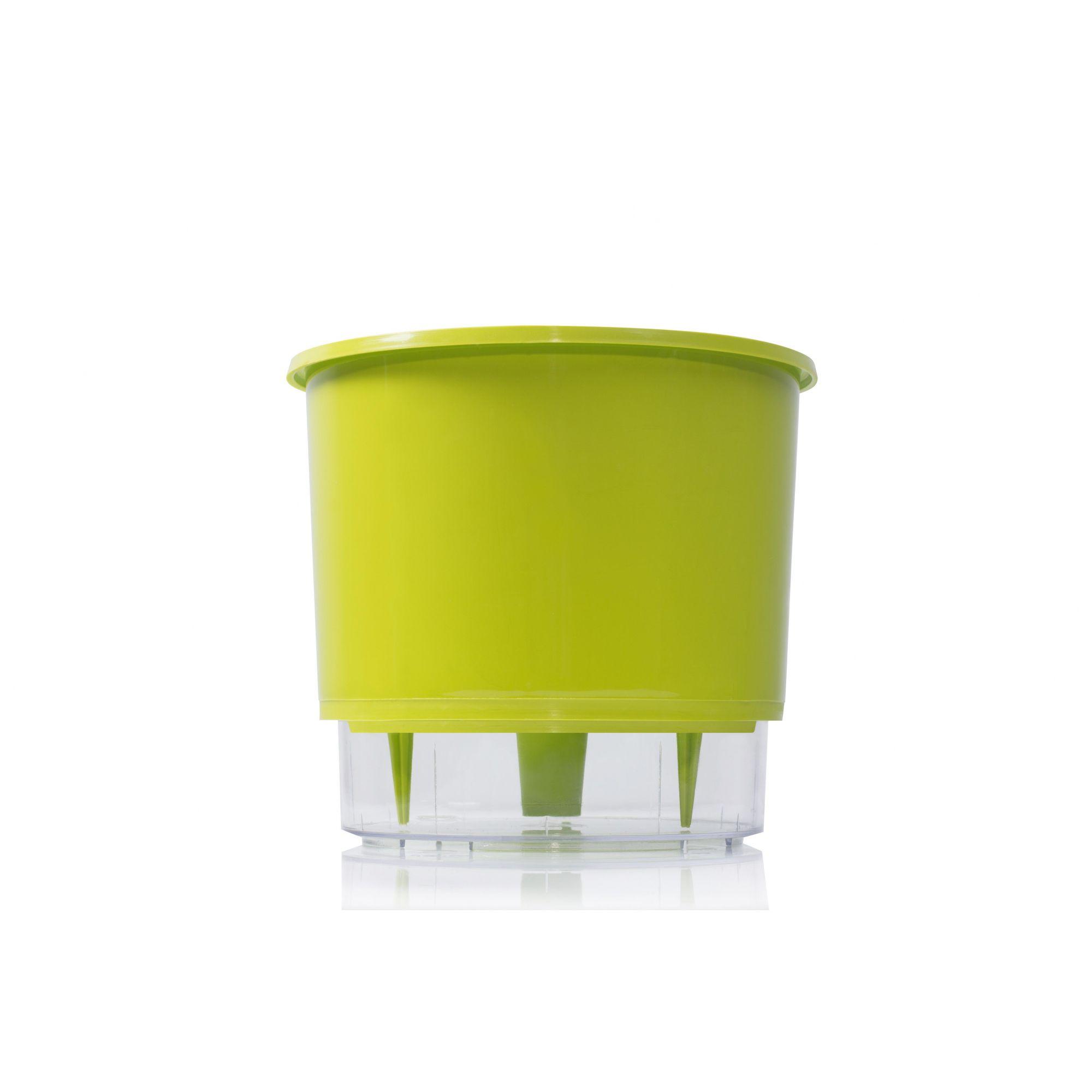 Vaso Autoirrigável 2 Verde Claro Raiz